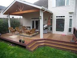 ... Simple Porch Ideas 2016 Simple Covered Deck Ideas Covered Patio Designs  With ...