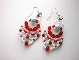 Beaded Earring Patterns For Beginners Custom Decorating Design