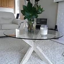 fab glasirror round clear table top with flat polish edge tempered b 42 inch round glass table top