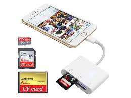 sd cf card reader for iphone ipad ipad