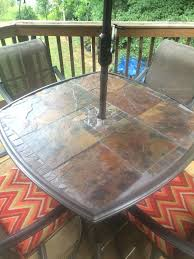 patio table replacement tiles far fetched top tile glass decorating ideas 9