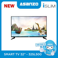 Smart Tivi Viền Siêu Mỏng Asanzo iSLIM 32 inch 32SL500 (Android 8.0)