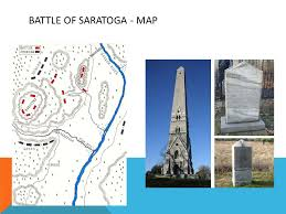 「battle of saratoga map」の画像検索結果