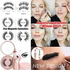 <b>1 Set Magnetic Liquid</b> Eyeliner <b>Magnetic</b> Wispy Fluffy False ...