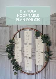 Hula Hoop Table Plan Diy Tutorial Make Your Own For 30