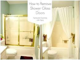 removing sliding glass shower doors replacing shower door glass remove shower doors glass door magnificent patio door repair sliding glass door how to