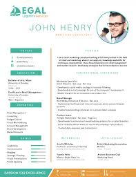 impressive resume. 50 Most Professional Editable Resume Templates for Jobseekers