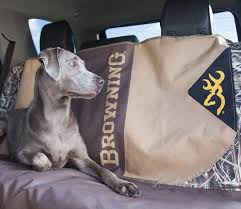 browning dog bench seat cover