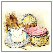 Hunca Munca And Her Babies Nspired By Beatrix Potter Counted