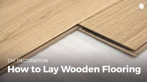how to lay wood flooring diy projects