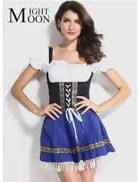 <b>MOONIGHT Hot Sexy</b> Blue Beer Costume Girl Wench Maiden ...