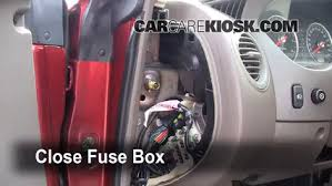 interior fuse box location chrysler sebring  interior fuse box location 2001 2006 chrysler sebring 2005 chrysler sebring limited 3 0l v6 coupe