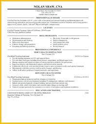Resume Sample For Cna Topshoppingnetwork Com