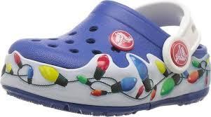 Crocs Kids Holiday Light Up Clog