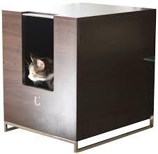 modern cat designs litter box hider brown purrfect cat large cat