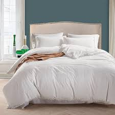 solid white duvet cover sets 2 polyester bedding sets us twin queen king size for single double bed xf539 duvet cover duvet clearance from roberte