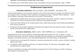 Ms Office Resume Templates 2012 Resume Template Administrative Assistant Skills Unforgettable 89