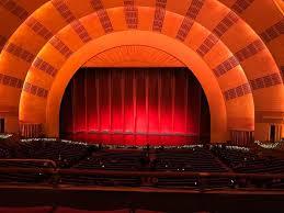 Radio City Music Hall Seating Chart Rockettes Radio City Music Hall Section 1st Mezzanine 3 Row C Seat