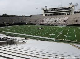 Vanderbilt University Football Stadium Seating Chart Vanderbilt Stadium View From Section T Vivid Seats