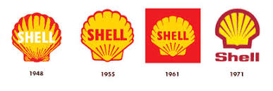 Shell logo evolution | Logo Design Love