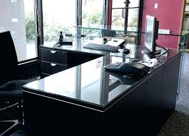 glass desk table tops. Tempered Glass Desk Top Image Of Table Custom Tops N
