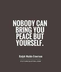Peace With Yourself Quotes