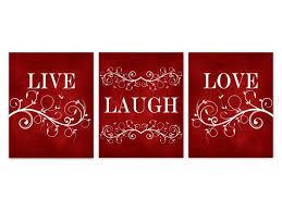 live laugh love canvas red wall art burdy home decor bathroom wall decor bedroom wall art nursery wall art wall hangings home198