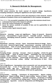 Features Of Good Research Design Anx 44 P Executive Mba Onwards Sde Page 1 Of 19 Pdf