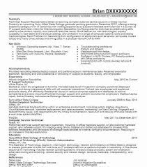 Support Technician Resume It Support Technician Resume Sample Technician Resumes
