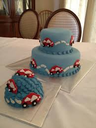 Vroom Vroom Red Car For Baby Boys First Birthday Cakecentralcom
