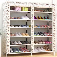 triple canvas clothes storage organiser