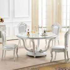 get ations masdo white french restaurant dining table continental silver foil dual round dining table round table round