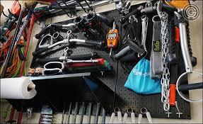 wall control metal pegboard equipment