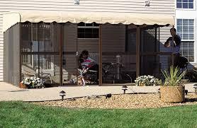 patio mate screened enclosure two door