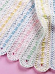 Baby Afghan Patterns Mesmerizing This Is Gorgeous On Parade Baby Afghan Intermediate Skills