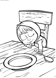 Small Picture Masha And The Bear Coloring Pages GetColoringPagescom