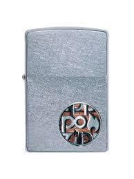 <b>Зажигалка Button с</b> покрытием Street Chromе <b>Zippo</b> 8632876 в ...