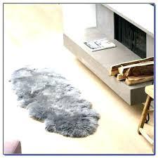 sheepskin rug costco faux sheepskin rug skin