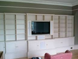built in wall shelving units custom made built in tv wall units in well known custom