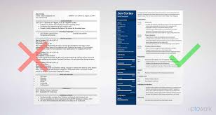 What A Good Resume Looks Like Good Resume Templates 100 Examples To Download Use Right Now 62