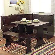 nook furniture. Kitchen Dining Breakfast Room Set Corner Nook Table Bench Booth Furniture Modern B