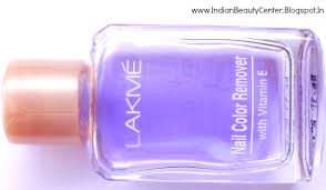 lakmé nail colour remover with vitamin e review this