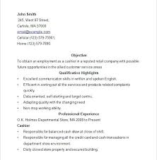 sample resume for cashier retail stores download cashier resume sample  sample resume cashier retail stores