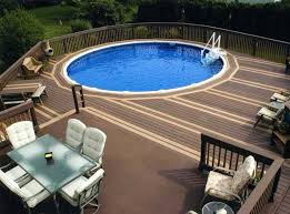 above ground swimming pool ideas. Above Ground Pool Styles Unique Ideas In House Patio Deck Swimming