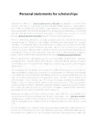 Scholarship Essay Examples Financial Need Scholarships Essays Examples Scholarship Essays Examples Example Of