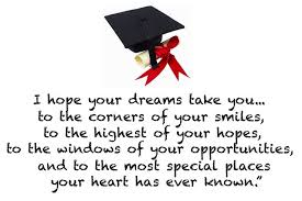 related graduation image with quote