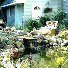 wooden pond wooden preformed pond best kits fish above ground home depot s