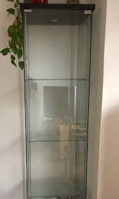 Ikea Detolf Glass Door Cabinet Home Furniture Furniture On Carousell