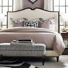 Upholstered Beige Bed