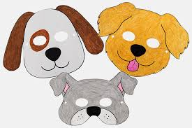 Explore 623989 free printable coloring pages for your kids and adults. Dog Or Puppy Masks Free Printable Templates Coloring Pages Firstpalette Com